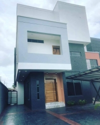Luxuriously Well Finished 5 Bedroom Detached House With Bq, Swimming Pool And Cinema Room In An Estate. 5 bedroom Detached Duplex for Sale Ikoyi Lagos Vetra  Property