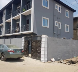 Newly Built Pop Screeded Room Self Contain , Just One Unit Left  Self Contained for Rent Shomolu Lagos Vetra  Property