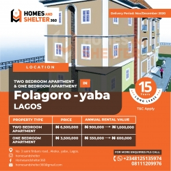 Own A Unit Of An Apartment For 15years And Collect Rent For This Period With Ease  Mini Flat for Sale Yaba Lagos Vetra  Property