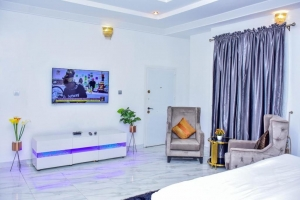 Beautifully Furnished Luxurious Shortlet 4bedroom Detached Duplex With A Room Boy's Quarter 4 bedroom Detached Duplex for Short let Lekki Lagos Vetra  Property