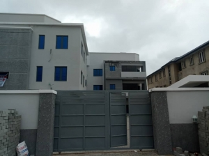 Newly Built Tastefully Finished Partly Serviced 2bedroom Pent House With A Room Boy's Quarter 2 bedroom Blocks of Flats for Rent Lekki Lagos Vetra  Property