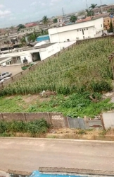 Commercial Standard 1717sqm Land Facing Major Road Commercial Land for Sale Ejigbo Lagos Vetra  Property