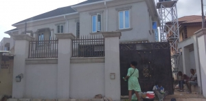 An Executive And Exquisitely Finished 4bedroom Duplex With 2bedroom Bq At Akowonjo  Detached Duplex for Sale Alimosho Lagos Vetra  Property