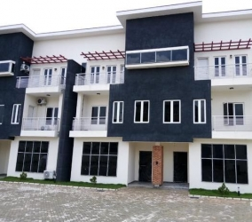Terrace Duplex With Bq For Sale At Guzape Abuja 60m 4 bedroom Terraced Duplex for Sale Guzape Abuja Vetra  Property