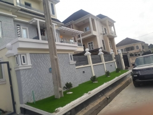 Luxury 5bedroom Fully Detached Duplex + Laundry & Bq 5 bedroom Detached Duplex for Sale Lekki Lagos Vetra  Property