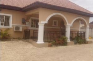 Detached 3 Bedroom Bungalow +space For Bq For Sale 3 bedroom Detached Bungalow for Sale Lokogoma District Abuja Vetra  Property