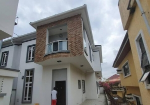 4bedroom Semi Detached Duplex With Bq 4 bedroom Semi-Detached Duplex for Sale Lekki Lagos Vetra  Property
