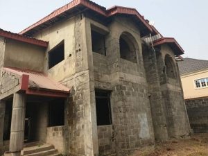 2 Units Of Uncompleted 4-bedroom Semi-detached Duplex 4 bedroom Semi-Detached Duplex for Sale Lekki Lagos Vetra  Property