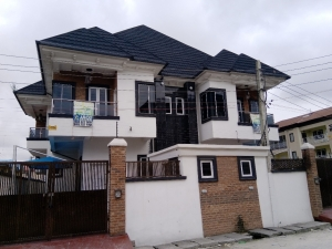 2 Units Of 4 Bedroom Semi-detached House With 1 Room Boys' Quarter 4 bedroom Semi-Detached Duplex for Sale Lekki Lagos Vetra  Property