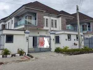 For Sale!!! A4bedroom Semi-detached Duplex With Bq 4 bedroom Semi-Detached Duplex for Sale Lekki Lagos Vetra  Property