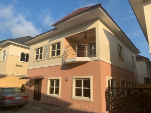 4 Bedroom Fully Detached Duplex With Bq, Fully Serviced  4 bedroom Detached Duplex for Sale Lekki Lagos Vetra  Property