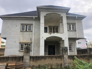 An 80% Completed 5 Bedroom Fully Detached Duplex 5 bedroom Detached Duplex for Sale Gwarinpa Abuja Vetra  Property