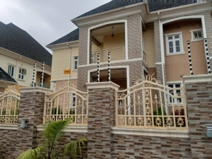 A Lovely 5 Bedroom Fully Detached Duplex With A Room Bq 5 bedroom Detached Duplex for Sale Gwarinpa Abuja Vetra  Property