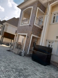 A Newly 5 Bedroom Fully Detached Duplex With 2rooms Bq  5 bedroom Detached Duplex for Sale Gwarinpa Abuja Vetra  Property