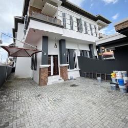 4 Bedroom Semi Detached Duplex Price: 47m Location: Ologolo Semi-Detached Duplex for Sale Lekki Lagos Vetra  Property