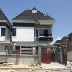 Luxurious 5bedroom Fully Detached Duplex For Sale With Bq Location: Ologolo Price: 90m Detached Duplex for Sale Lekki Lagos Vetra  Property