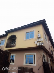 Standard Newly Built Mini Flat Fence Round With Gate Security Wise Car Park With Prepared Metre Wardrobe Kitchen Cabinet Pop Mini Flat for Rent Gbagada Lagos Vetra  Property