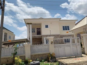 5bedrooms Fully Detached Duplex With One Bedroom Bq 5 bedroom Detached Duplex for Sale Gwarinpa Abuja Vetra  Property