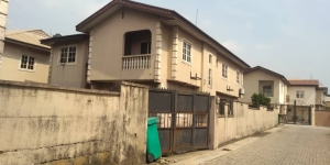 A Dilapidated 5bedroom Fully Detached Duplex With A Room Bq 5 bedroom Detached Duplex for Sale Gbagada Lagos Vetra  Property