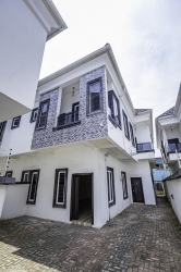 Newly Built 4 Bedroom Semi Detached House 4 bedroom Semi-Detached Duplex for Sale Lekki Lagos Vetra  Property