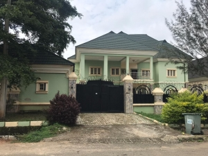 6 Bedroom Fully Detached Duplex With 3 Units Of 1 Bedroom Self-con 6 bedroom Detached Duplex for Sale Gwarinpa Abuja Vetra  Property