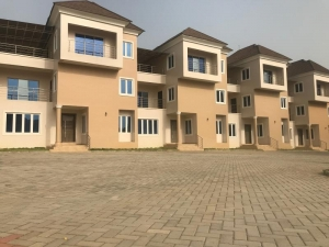 A Very Good 3 Bedroom Terraces 3 bedroom Terraced Bungalow for Sale Gwarinpa Abuja Vetra  Property