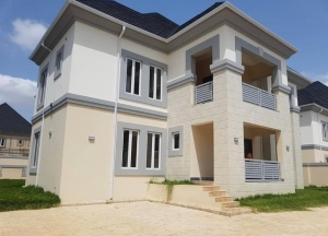 Newlybuilt And Tastefully Finished Detached 5bedroom Duplex With 2rooms B/q And Swimming Pool With Well-modernized Facilities For Sale In Gwarinpa.  5 bedroom Detached Duplex for Sale Gwarinpa Abuja Vetra  Property