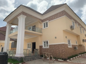 Newly Built And Tastefully Finished Detached 5bedroom Duplex With 2rooms B/q For Sale In Gwarinpa.  5 bedroom Detached Duplex for Sale Gwarinpa Abuja Vetra  Property