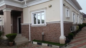 Fully-furnished Detached 3bedroom Bungalow With B/q For Sale In Gwarinpa.  3 bedroom Detached Bungalow for Sale Gwarinpa Abuja Vetra  Property