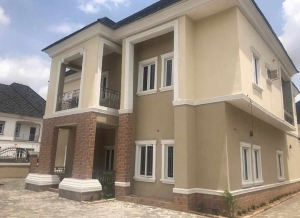 Newlybuilt And Tastefully Finished Detached 5bedroom Duplex With 2rooms B/q And Swimming Pool For Sale In Gwarinpa.  5 bedroom Detached Duplex for Sale Gwarinpa Abuja Vetra  Property