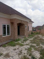Newlybuilt Detached 3bedroom Bungalow With 1bedroom Guest Chalet B/q For Sale In Gwarinpa.  3 bedroom Detached Bungalow for Sale Gwarinpa Abuja Vetra  Property