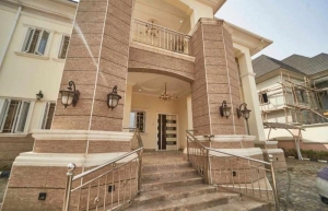 Newlybuilt Furnished Detached 4bedroom Duplex With B/q And 2living Rooms For Sale In Gwarinpa. 4 bedroom Detached Duplex for Sale Gwarinpa Abuja Vetra  Property