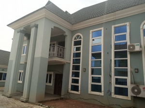 A Very Clean 4 Bedroom With A Boys Quarter 4 bedroom Terraced Duplex for Rent Gwarinpa Abuja Vetra  Property