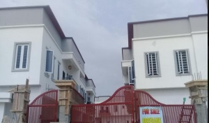 Brand New Well Finished 11 Units 4 Bedroom Terrace House For Sale. 4 bedroom House for Sale Lekki Lagos Vetra  Property