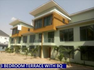 Nicely Built 3 Bdrm Terrace With Bq @rainbow Bb Estate Gwarimpa, Fct Abuja. For 45m 3 bedroom Terraced Duplex for Sale Gwarinpa Abuja Vetra  Property
