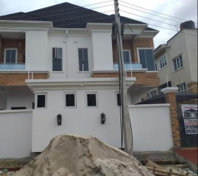 Fantastically Well Finished 4 Bedrooms Semi Detached Duplex For Sale 4 bedroom Semi-Detached Duplex for Sale Lekki Lagos Vetra  Property