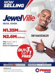 Jewel Ville Estate Asaba Mixed Land for Sale Asaba Delta Vetra  Property