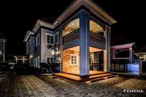 Well Finished 5 Bedroom Fully Detached Duplex With 2rooms Bq 5 bedroom Detached Duplex for Sale Gwarinpa Abuja Vetra  Property