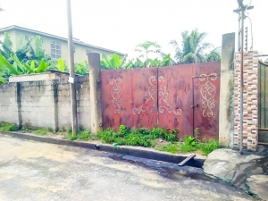 Fenced 1 And Half Plots Of Land Off St John Road Iwofe Residential Land for Sale Port Harcourt Rivers Vetra  Property