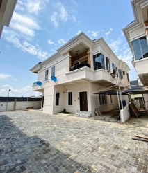Newly Built 4 Bedroom Semi Detached Duplex With Bq Located At Ologolo, Lekki . Lagos  4 bedroom Semi-Detached Duplex for Sale Lekki Lagos Vetra  Property