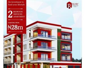 2 Bedroom Fully Serviced Apartment 2 bedroom Mini Flat for Sale Lekki Lagos Vetra  Property