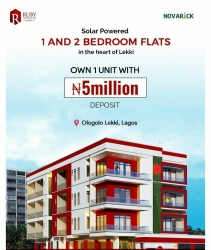 One Bedroom Fully Serviced Apartment Mini Flat for Sale Lekki Lagos Vetra  Property