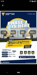 3 Bedroom Semi Detached Duplex With Bq - Vantage Court 3 bedroom Semi-Detached Duplex for Sale Ajah Lagos Vetra  Property