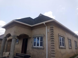 Tastefully Built 4 Bedroom Detached Bungalow For Sale At Bota Quarters.liberty Academy Road 4 bedroom Detached Bungalow for Sale Ibadan Oyo Vetra  Property