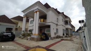 Newly And Lovely Built Serviced Fully Detached Duplex With Bq 5 bedroom Detached Duplex for Sale Gwarinpa Abuja Vetra  Property