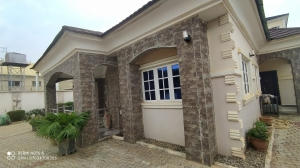 Fairly Used 4 Bedroom Bungalow Fully Detached 4 bedroom Detached Bungalow for Sale Gwarinpa Abuja Vetra  Property