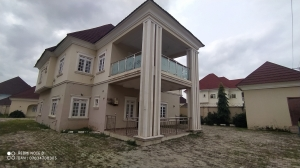 Luxurious 5 Bedroom Fully Detached Duplex With Bq 5 bedroom Detached Duplex for Rent Gwarinpa Abuja Vetra  Property