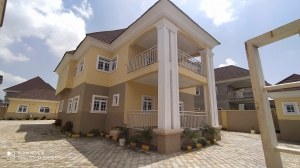 Luxurious 4bedrooms Duplex With Bq 4 bedroom Semi-Detached Duplex for Rent Gwarinpa Abuja Vetra  Property