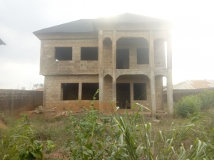 Uncompleted Detached 4 Bedroom Duplex In A Good Location 4 bedroom Detached Duplex for Sale Ibadan Oyo Vetra  Property