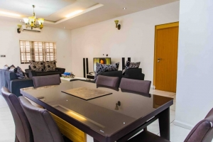 Luxurious 3 Bedroom Flat  3 bedroom Self Contained for Short let Lekki Lagos Vetra  Property